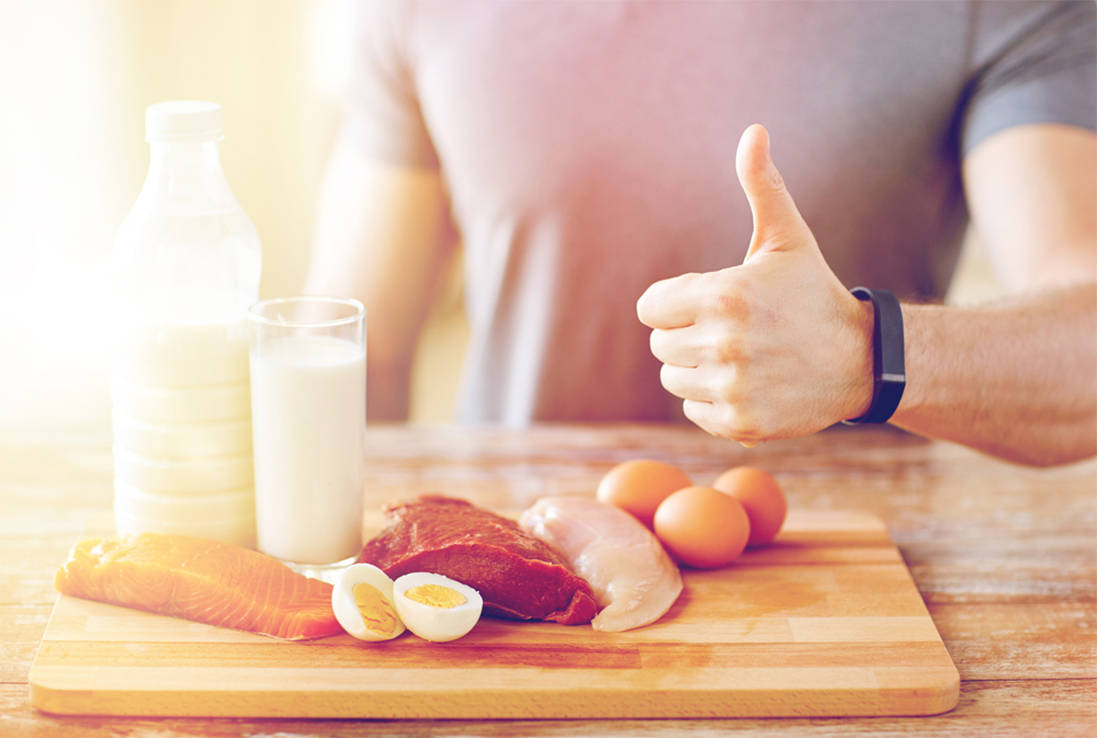 Сколько белка нужно при тренировках