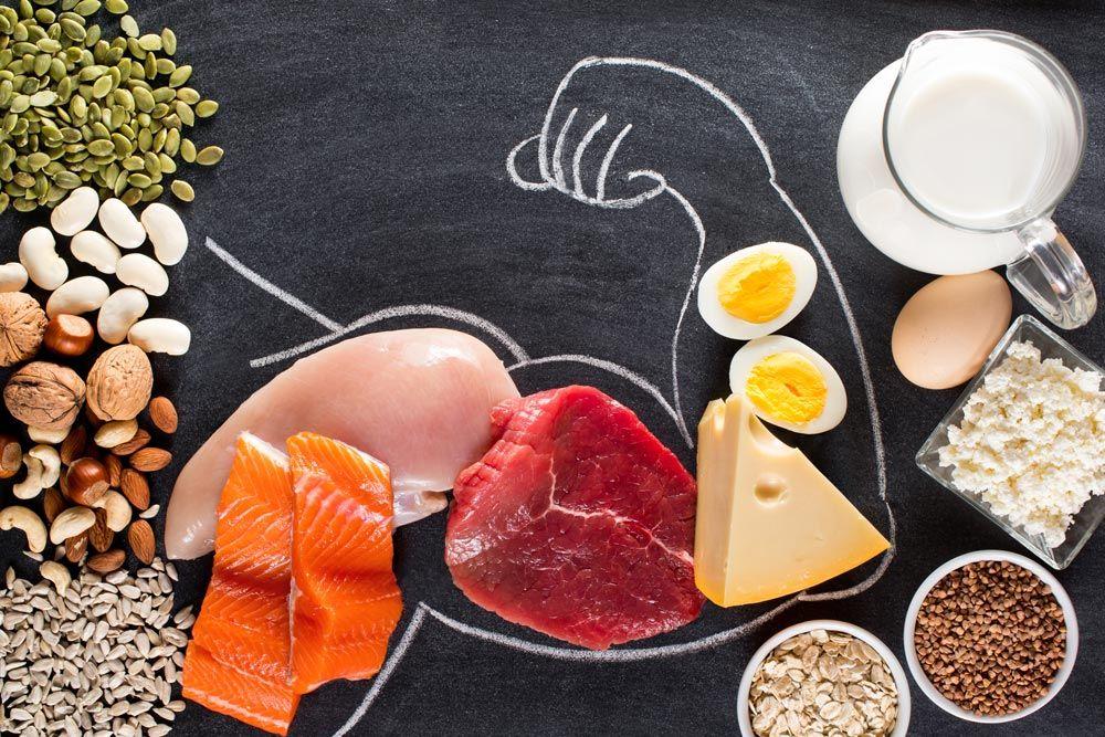 Белковая диета для набора мышечной массы