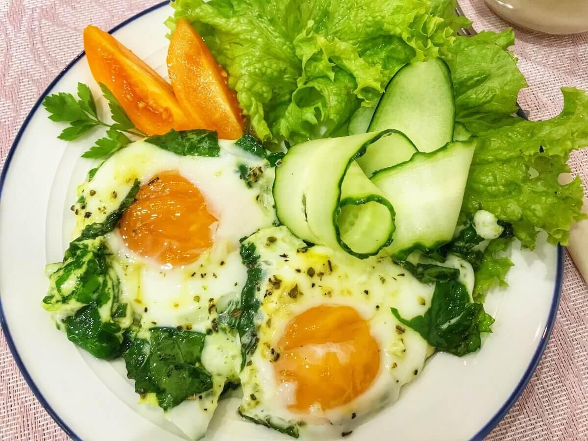 белково-жировые завтраки рецепты